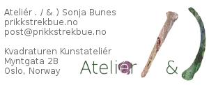 Kontakt Ateliér Prikk Strek & Bue Sonja Bunes